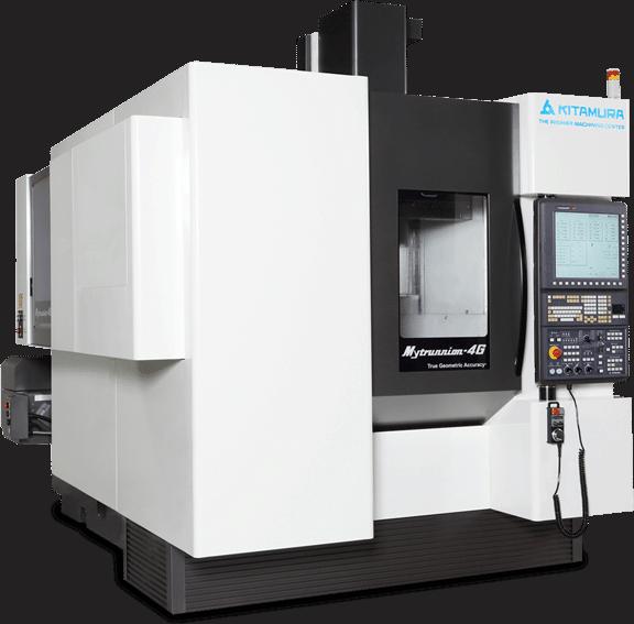 Kitamura 5-assig CNC Freesmachine MyTrunnion 4G