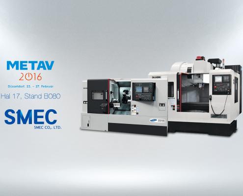 Humacs Krabbendam op de Metav 2016 Samsung SMEC PL2000SY