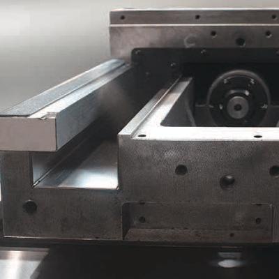 Geslepen en geharde blokgeleidingen
