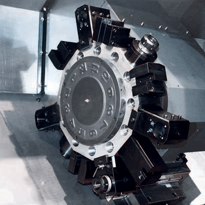 Milling turret