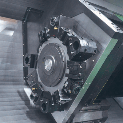 Milling turret met Y-as functionaliteit