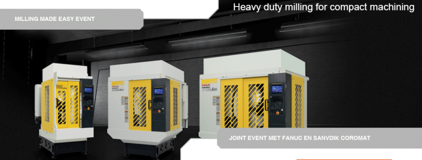 MILLING MADE EASY EVENT MET FANUC EN SANDVIK
