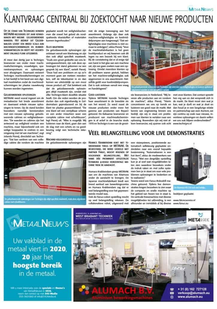 Artikel MetaalNieuws 20 pagina 40