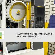 Fanuc Robodrill voor Van Den Berkmortel