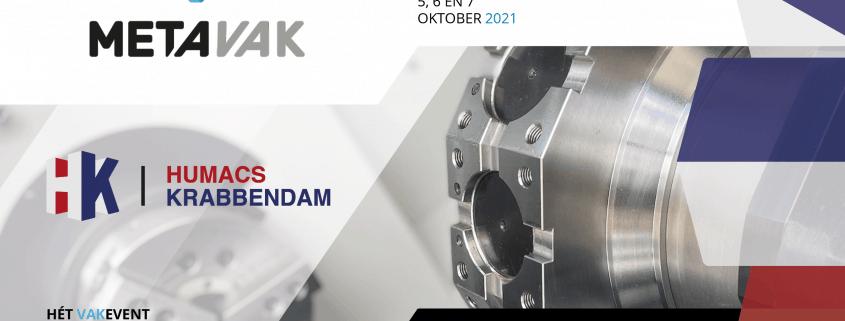 Humacs Krabbendam op de METAVAK 2021